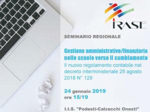 seminario gestione amministrativo finanziaria scuole Irase Ancona