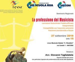 Seminario Regionale: La Professione del Musicista