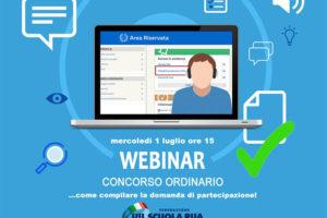 Webinar: CONCORSO ORDINARIO… come compilare la domanda di partecipazione
