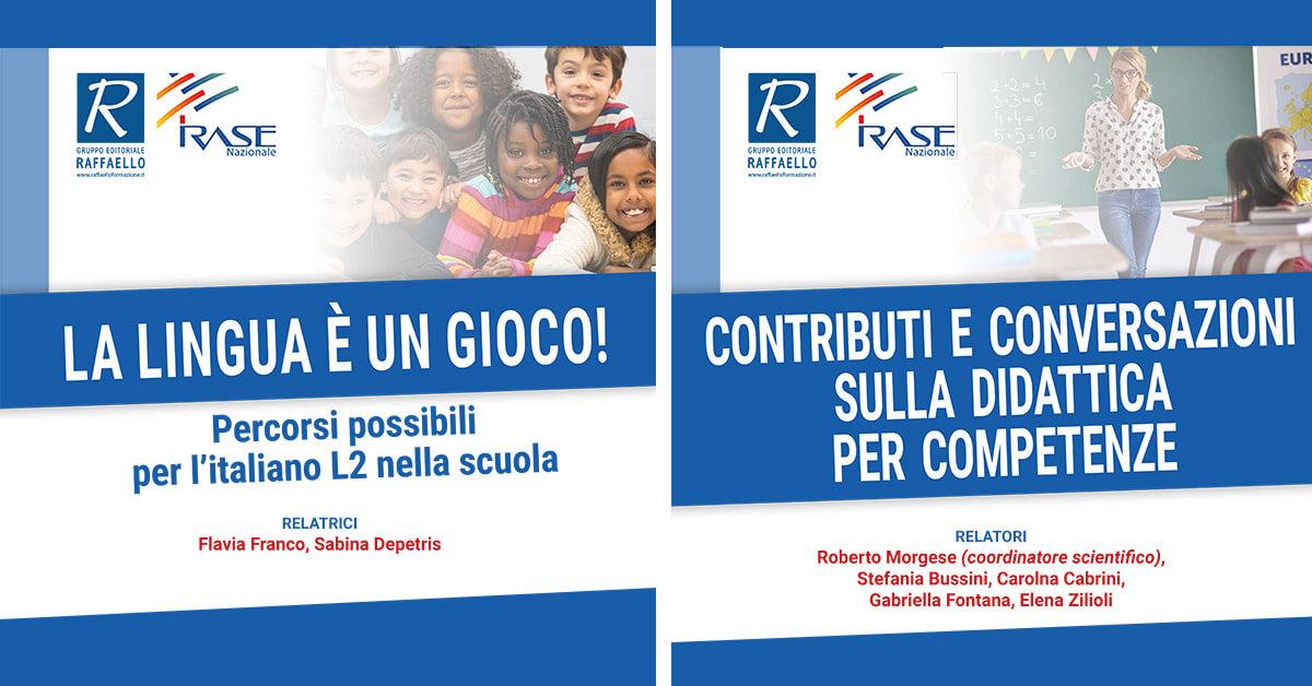 Nuovi corsi Irase Nazionale sulla piattaforma SOFIA in collaborazione con il Gruppo Editoriale Raffaello