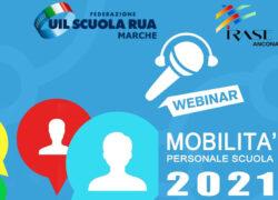 Webinar  MOBILITA' PERSONALE SCUOLA 2021
