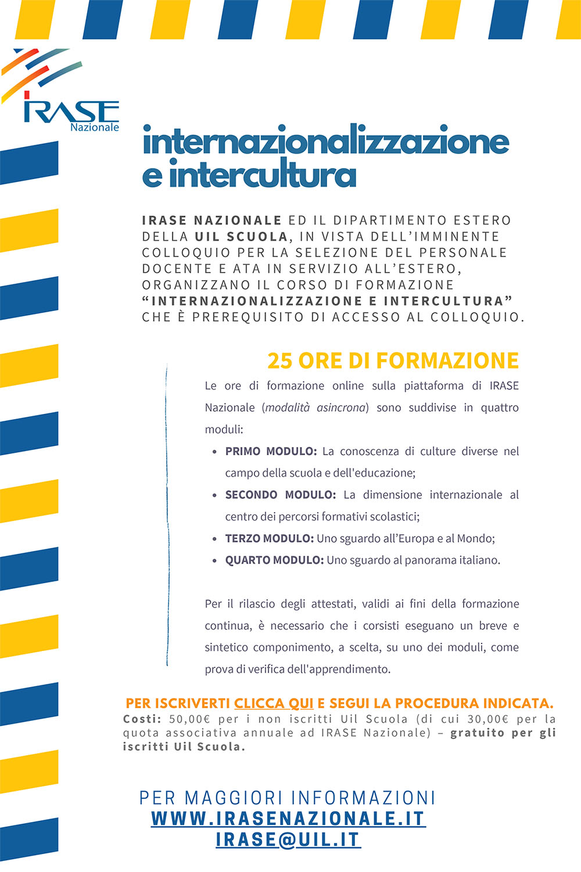 Itase internazionalizzazione intercultura