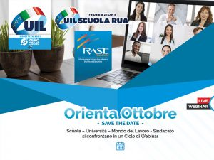 Orienta Ottobre – Webinar UIL e UIL scuola con IRASE Nazionale